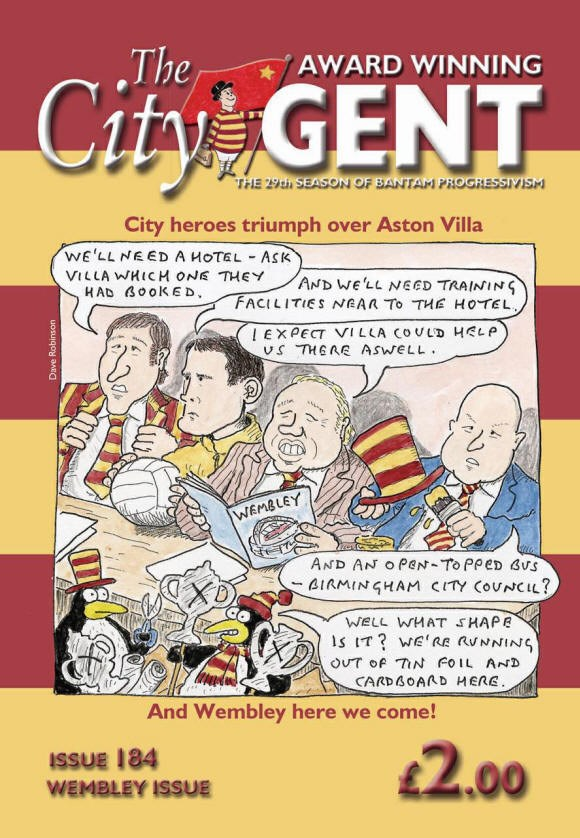The City Gent Fanzine for Bradford City FC